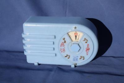Cute Vintage Blue Radio Shaped Music Box