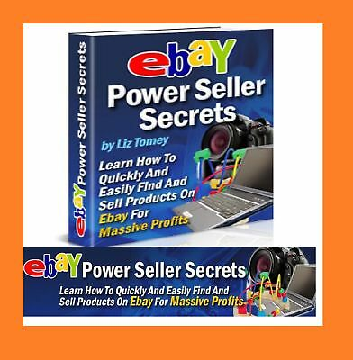 Power Seller Secrets  ebook  PDF with  resell rights