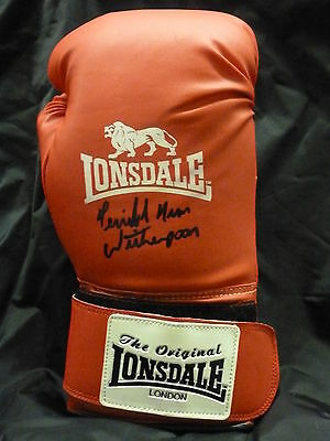 Tim Witherspoon 14oz Signed  Lonsdale Boxing Glove