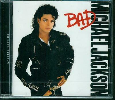 Michael Jackson Cd Album Bad  Special Edition Neuf Sous Blister
