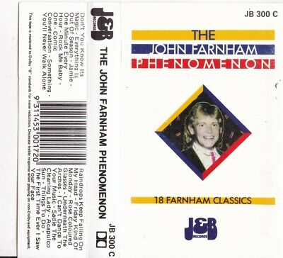 JOHN FARNHAM The Phenomenon - Cassette - Tape   SirH70