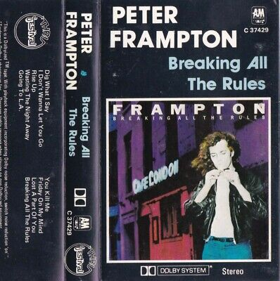 PETER FRAMPTON Breaking All The Rules - Cassette - Tape   SirH70