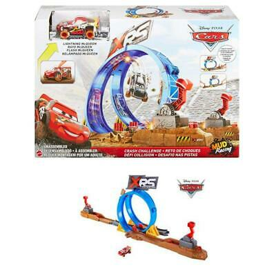 Mattel Disney Cars FYN85 Disney Cars Lightning McQueen Crash Looping Rennbahn