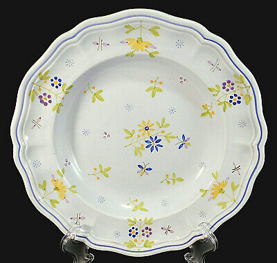 Rimmed Soup Bowl Longchamps Daisy Printemps France Scalloped Pasta Cereal French