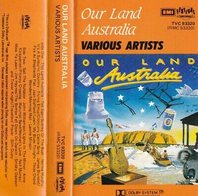 OUR LAND AUSTRALIA Various Country Artists - Cassette - Tape   SirH70