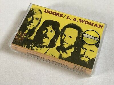 THE DOORS - L.A. WOMAN - CASSETTE, ALBUM, REISSUE - ELEKTRA - WE 421 - Free P&P