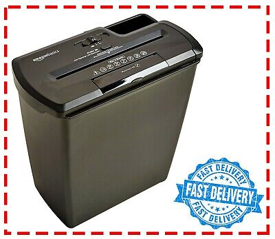 8 Sheet Shredder (HEAVY DUTY) DESTROY CONFIDENTIAL DOCUMENTS, CREDIT CARDS, CD'S