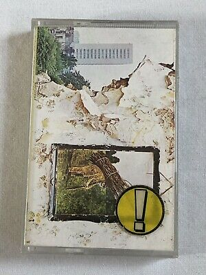 LED ZEPPELIN - IV - CASSETTE, ALBUM, REISSUE - ATLANTIC - 450 008 - Free P&P