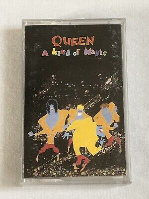 QUEEN - A KIND OF MAGIC - CASSETTE, ALBUM, - EMI - TCEU 3509 - Free P&P