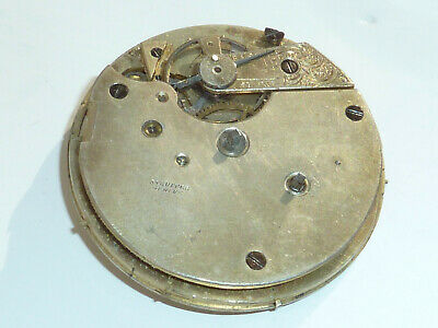 Swiss Made Stauffer Geneve pocket watch movement, ref 96632