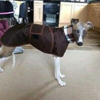 whippet/Greyhound/Lurcher walking out water proof coat ' 4 measurements needed'