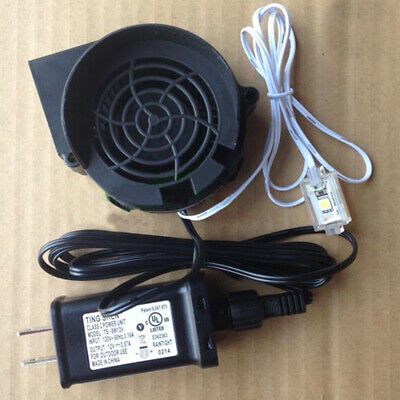 Airblown Inflatable Replacement .5a FAN With 12v Adapter JDH7530S