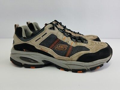 6cdb696e2d103 SKECHERS VIGOR 2.0 TRAIT Men's shoes Brown Memory Foam Sport Sneakers Sz  9.5 M
