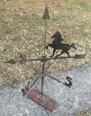 Vintage Horse Weathervane Arrow W Directionals