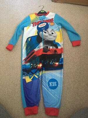 Kids All in One Boys Girls Fleece Novelty Character Childrens Pyjamas Sleepsuit