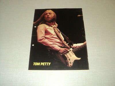 T580 Tom Petty '1983 Belgian Clipping