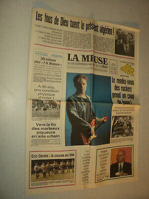 La Meuse 1992/151 (30/6) Red Hot Chili Peppers Bryan Adams Torhout Werchter Reed