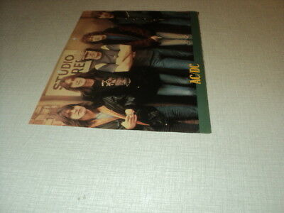 T393 Ac/dc '1982 Belgian Clipping