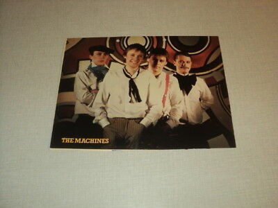 T460 The Machines '1982 Belgian Clipping