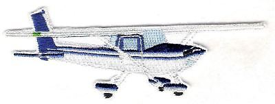 CESSNA 172 Airplane Aircraft Aviation Collectable Patch Jacket Size Blue//White