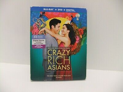 Warner Home Video Crazy Rich Asians Blu-Ray, DVD, and Digital, 2018