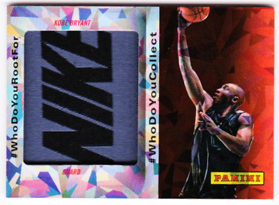 c694231417b7 Kobe Bryant 2014 Panini Fathers Day Full Nike Name Patch Card  5 Only 5 Made