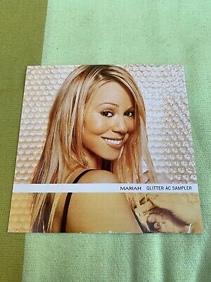 Mariah Carey Glitter Sampler USA 🇺🇸 Single Promo