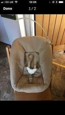 Stokke Tripp Trapp Highchair Newborn Seat 2 Available