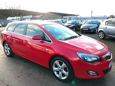 2012 VAUXHALL ASTRA 1.6i 16V SRi ESTATE