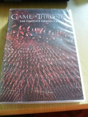 Game Of Thrones The Complete Seasons 3 & 4 DVD set