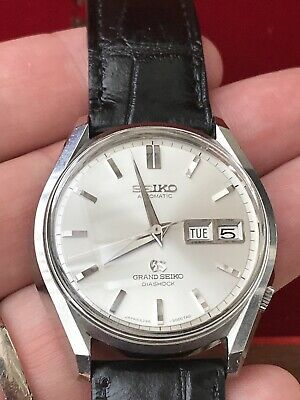 Rare Vintage Grand SEIKO 6246-9000 With Grand Seiko Boxes- Serviced In 2016