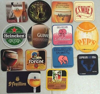 (Lot 04) Lot de 14 Sous-bocks - Bierdeckel - Coaster