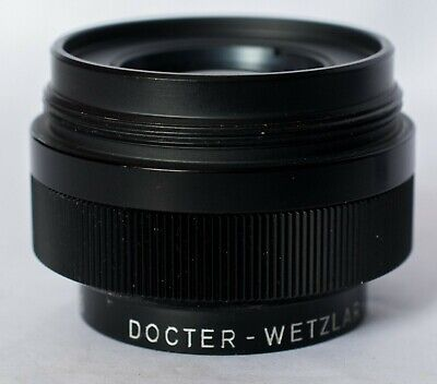 Docter 105mm f4.5 enlarger lens, made in West Germany.