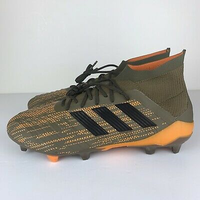 b88fe10ab Adidas Predator 18.1 FG Soccer Cleats Trace olive Green CM7412 Men s Size  9.5
