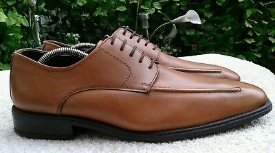 874a4805d74a Mens Clarks Pulse Smart Light Tan Leather Lace Up Shoes Uk Size 9 Hardly  Worn