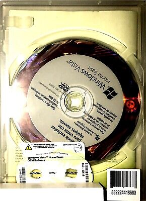 #001 Licenza Windows Win Vista Home Basic 32 - 64 Bit Attivazione
