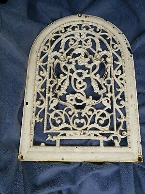 Victorian Cast Iron Ornate Dome Top wall  Register Grate Vent Cover Cold air