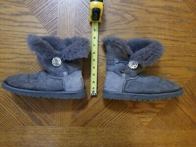 eeccc007470 RARE UGGS. UGG BAILEY BUTTON BLING HOT PINK BOOTS - Swarovski ...