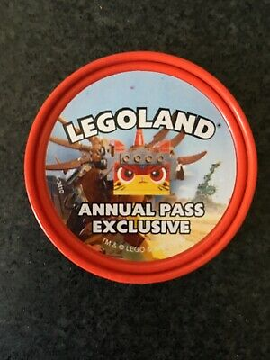 Merlin Legoland Limited edition (rare) Annual Pass Exclusive Pop Badge