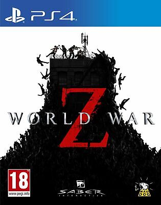 World War Z (PS4) IN STOCK NOW Brand New & Sealed UK PAL