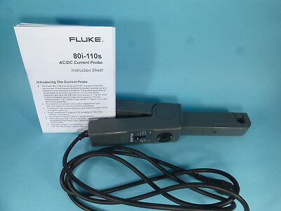 Fluke 80i 110s AC/DC current oscilloscope probe 80 110 Fluke 80i-110s