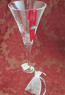 Waterford Crystal Snowflake Wishes For Joy Toasting Flute-NIB-First Edition