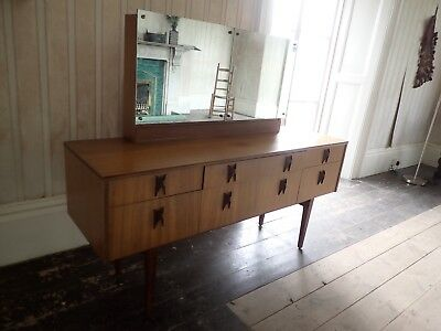 Fabulous Rare Mid Century Modern Designer Dressing Table