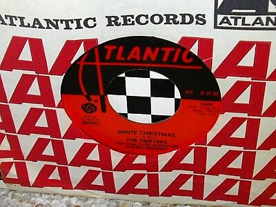 Drifters White Christmas.R B 45 The Drifters White Christmas On Atlantic Vg