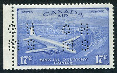 Weeda  Canada #OCE3 VF MH Airmail Special Delivery 4-hole OHMS Official CV $75