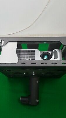 Hitachi Ed-X12 Projector + Remote, Locked in Security Cage