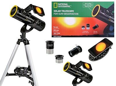 National Geographic Telescope, including Solar Filter, magnification 18-175x