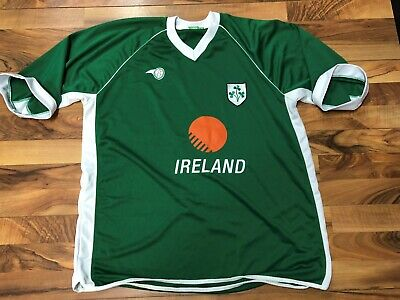 on sale 3be43 c5753 IRELAND NATIONAL TEAM Soccer Futbol Europe T Shirt Green ...