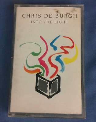 Chris De Burgh Into The Light Cassette Tape Tested Working Free Fast Postage