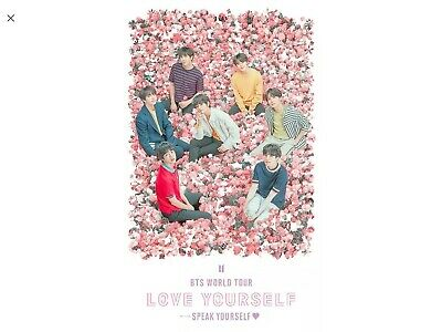 BTS TICKETS Sunday 3rd June 2019 Wembley-3xTickets Bk524 Row37 Seats 304,305+306